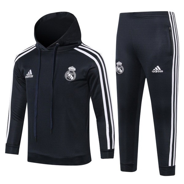 Chandal Niños Real Madrid 2018/2019 Blanco Negro Replicas Futbol